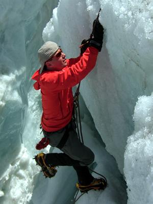 Ice Climbing Training Mountain Guide Zermatt