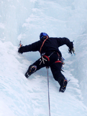Ice Climbing Zermatt Mountain Guide