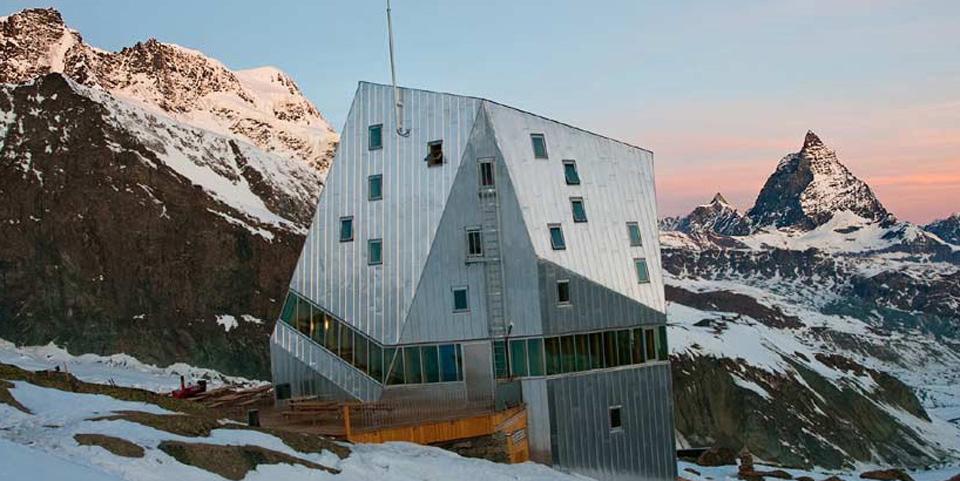 Monte Rosa Hut Mountain Guide Zermatt