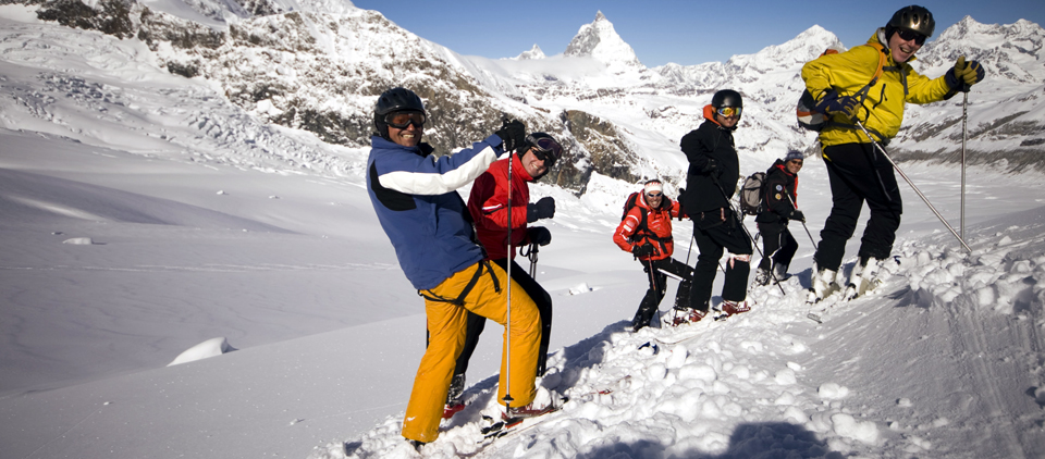 Heliskiing Mountain Guide Zermatt